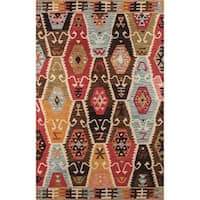 Momeni Tangier Multicolor Hand-Tufted Wool Rug - 8' x 11'