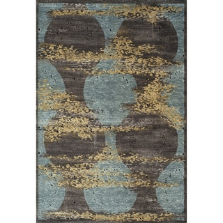 Monterey Abstract Patchwork Power Loomed Rug (8' x 11')