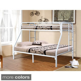 Donco Kids Metal Twin Bunk Bed