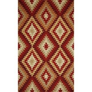Momeni Veranda Multicolor Southwest Diamond Indoor/Outdoor Rug (3'9 X 5'9)