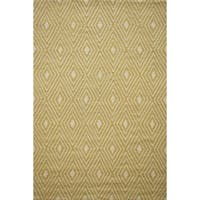Momeni Veranda Yellow Diamonds Indoor/Outdoor Rug (3'9 X 5'9)