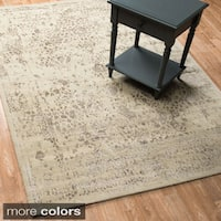 Transitional Multi Vintage Glam Rug - 12' x 15'