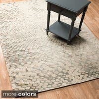 Transitional Multi Vintage Glam Rug - 9'2 x 12'2