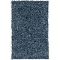 Hand-Woven Lindsey Solid Indoor Area Rug (2' x 3')