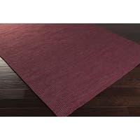 Hand-Woven Lorelai Stripe Reversible Wool Area Rug - 2' x 3'
