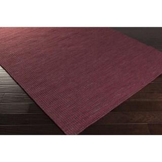 Hand-Woven Lorelai Stripe Reversible Wool Area Rug (2' x 3')