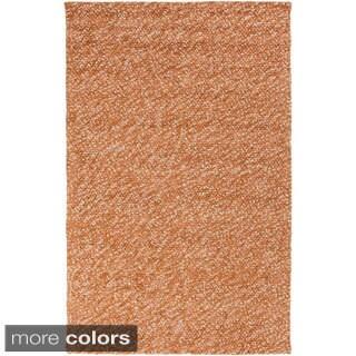 Hand-Woven Brax ton Wool Indoor Area Rug (8' x 10') - 8' x 10'