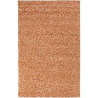 Hand-Woven Brax ton Wool Indoor Area Rug (5' x 8')