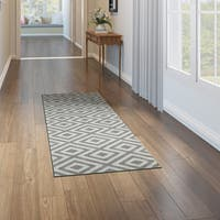 Porch & Den Allston-Brighton Sinclair Geometric Runner Rug