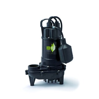 ECO-FLO Products ECD50W 0.5 HP 3900 GPH Wide Angle Switch Cast Iron Submersible Sump Pump