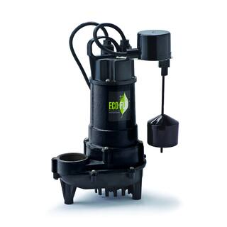 ECO-FLO Products ECD75V 3/4 HP 6300 GPH Cast Iron Submersible Sump Pump with Vertical Switch|https://ak1.ostkcdn.com/images/products/10002875/P17151899.jpg?impolicy=medium