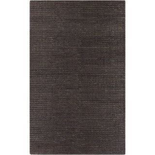 Hand-Woven Blanche Solid Jute Rug (8' x 11')