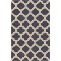 Hand-Tufted Deborah Moroccan Trellis Wool Area Rug - 8' x 11'
