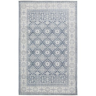 Hand-Knotted Orford Wool Area Rug