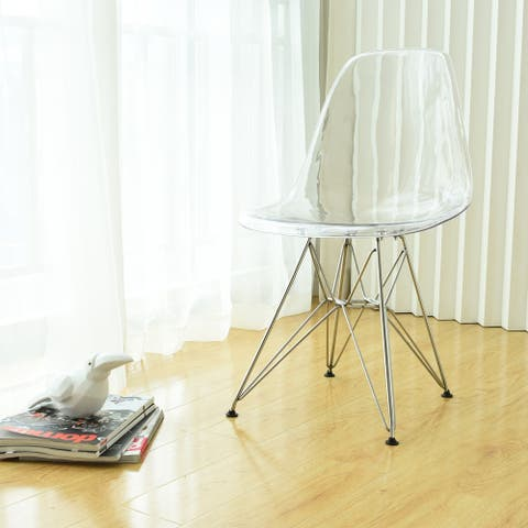 Mod Made Paris Tower Acrylic Dining Chair (Set of 2)