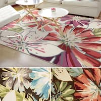 Rug Squared Laurel Floral Print Area Rug (5' x 7'6)