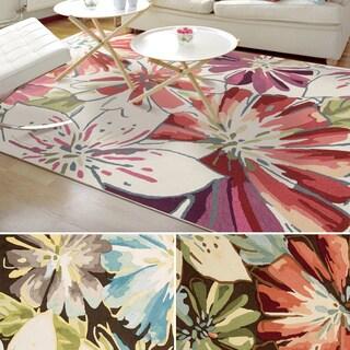 Rug Squared Laurel Floral Print Area Rug (8' x 10'6)