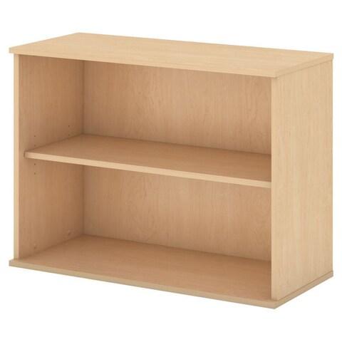 "Adjustable 2-shelf Bookcase - 29""h x 35.75""w x 15.50""d"