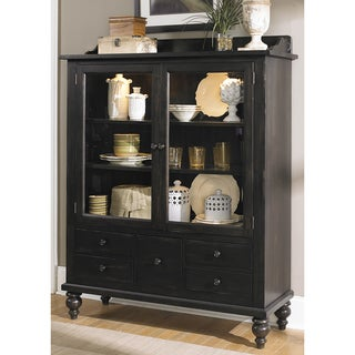 Black Cherry Traditional Display Cabinet
