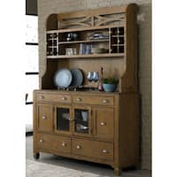 Liberty Town and Country Transitional Buffet and Hutch