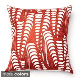 Furniture of America Abstract Wavelength 18-inch Decorative Throw Pillow
