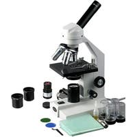 40X-2500X Veterinary Compound Microscope w Mechanical Stage & USB Digital Camera