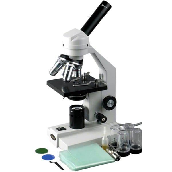 40x-2500x Advanced Home School Compound Microscope