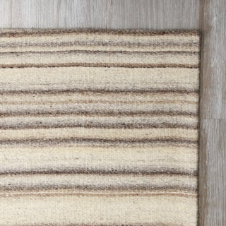 Aurora Home Marble Flatweave Wool Rug 5' x 8'