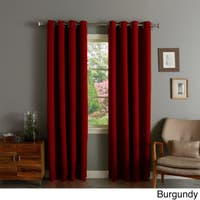 Buy Burgundy Blackout Curtains Drapes Online At Overstock Our Best Window Treatments Deals