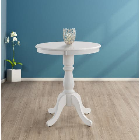 Linville Round Pedestal Bar Table