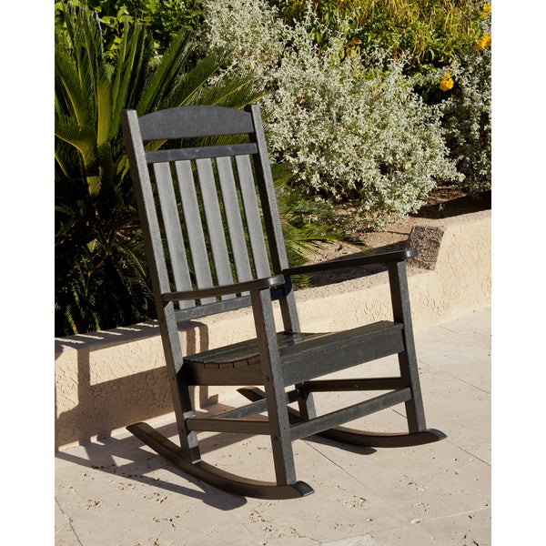Ivy Terrace Clics Outdoor Rocking Chair