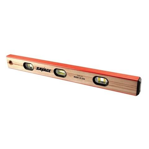 Swanson Tools 24-inch Wood Savage Masonry Level