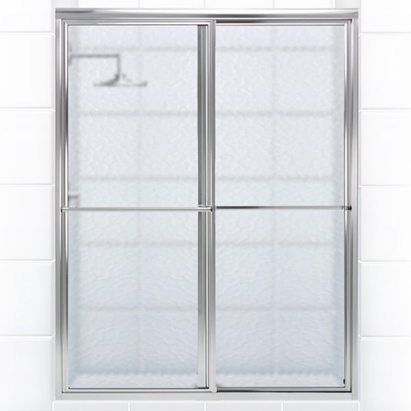 Newport Series 46 in. x 70 in. Framed Sliding Shower Door ...