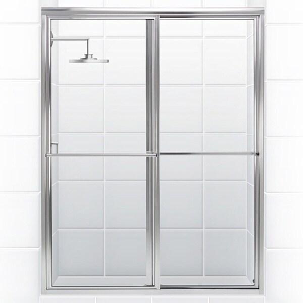 Newport Series 54 In X 70 In Framed Sliding Shower Door