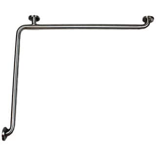CSI ADA Stainless Steel 27 x 36-inch L-Shaped Grab Bar
