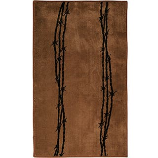 HiEnd Accents Barbwire Print 24 x 36 Acrylic Rug|https://ak1.ostkcdn.com/images/products/10003613/P17152510.jpg?impolicy=medium