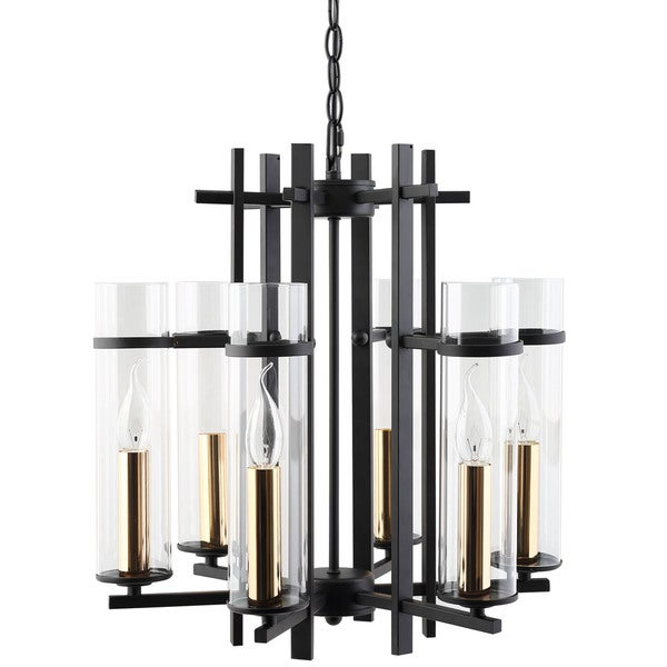 Chime Metal Chandelier 17152523 Overstock Com Shopping Great