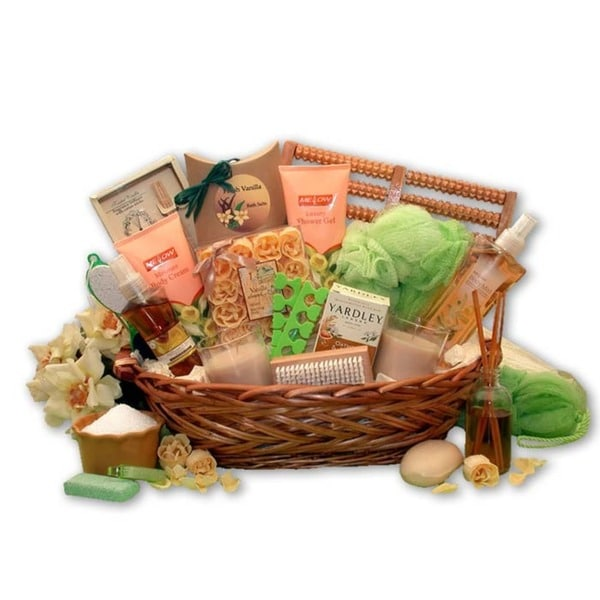 Vanilla Bliss Spa Gift Basket