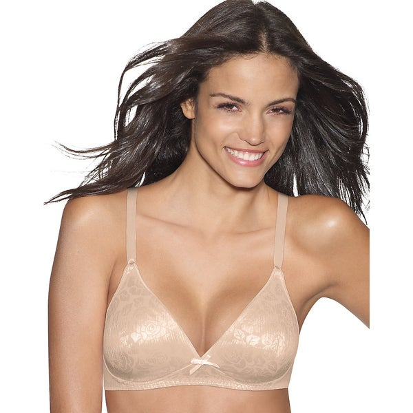 f82632d80de58 Shop Hanes Lightly Lined Seamless Wirefree Bra - Free Shipping On Orders  Over  45 - Overstock - 10003698