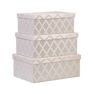 Creative Scents 3-piece Galliana Storage Box Set