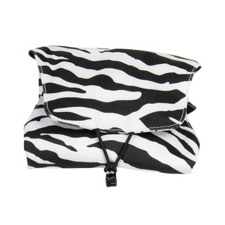 Household Essentials Zebra Four N Fold Jewelry Organizer