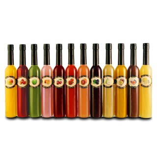 Fresh Fruit Vinegars Full Set of 12