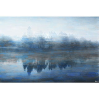 Marmont Hill - Handmade Lake Marmont Print on Wrapped Canvas