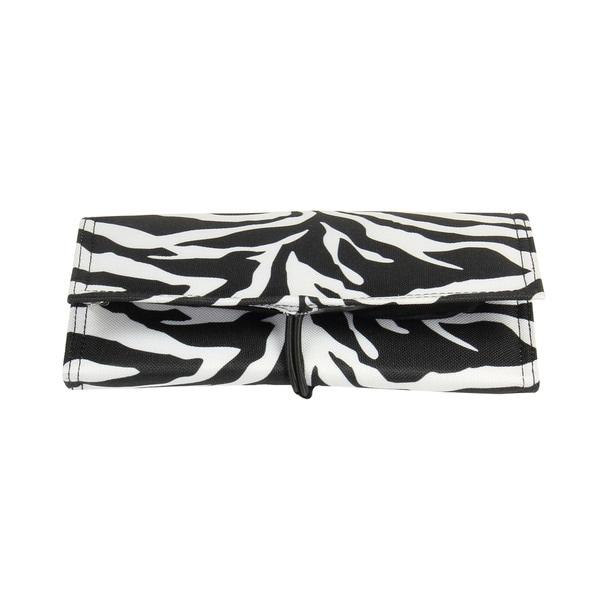 Household Essentials Zebra TriFold Travel Jewelry Organizer Free