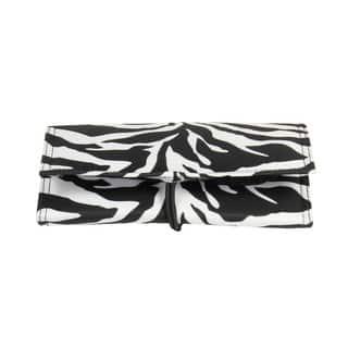 Household Essentials Zebra Tri-Fold Travel Jewelry Organizer|https://ak1.ostkcdn.com/images/products/10003805/P17152599.jpg?impolicy=medium
