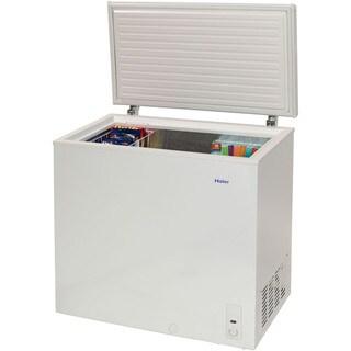 Haier HF71CM33NW 7.1 Cu. Ft. Chest Freezer