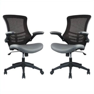 Manhattan Comfort Intrepid High-back Office Chair (Set of 2)
