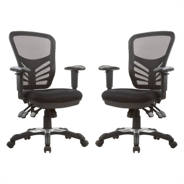 Manhattan Comfort Gouvernor Executive Mesh High Back Adjustable Office