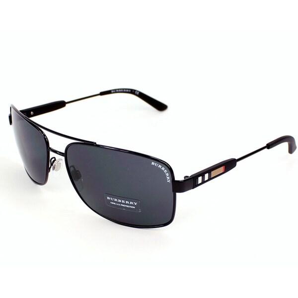 burberry men glasses rdcg  Burberry BE3074 Men's Metal Business Sunglasses