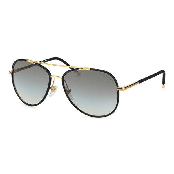 99141b44c9d7 Shop Burberry BE3078J Men s Light Gold Metal Sunglasses - Black ...